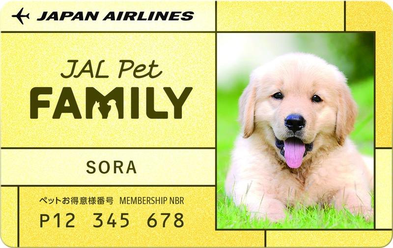JAL PET 会員証イメージ